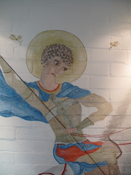St George, Hellenic Republic Mural