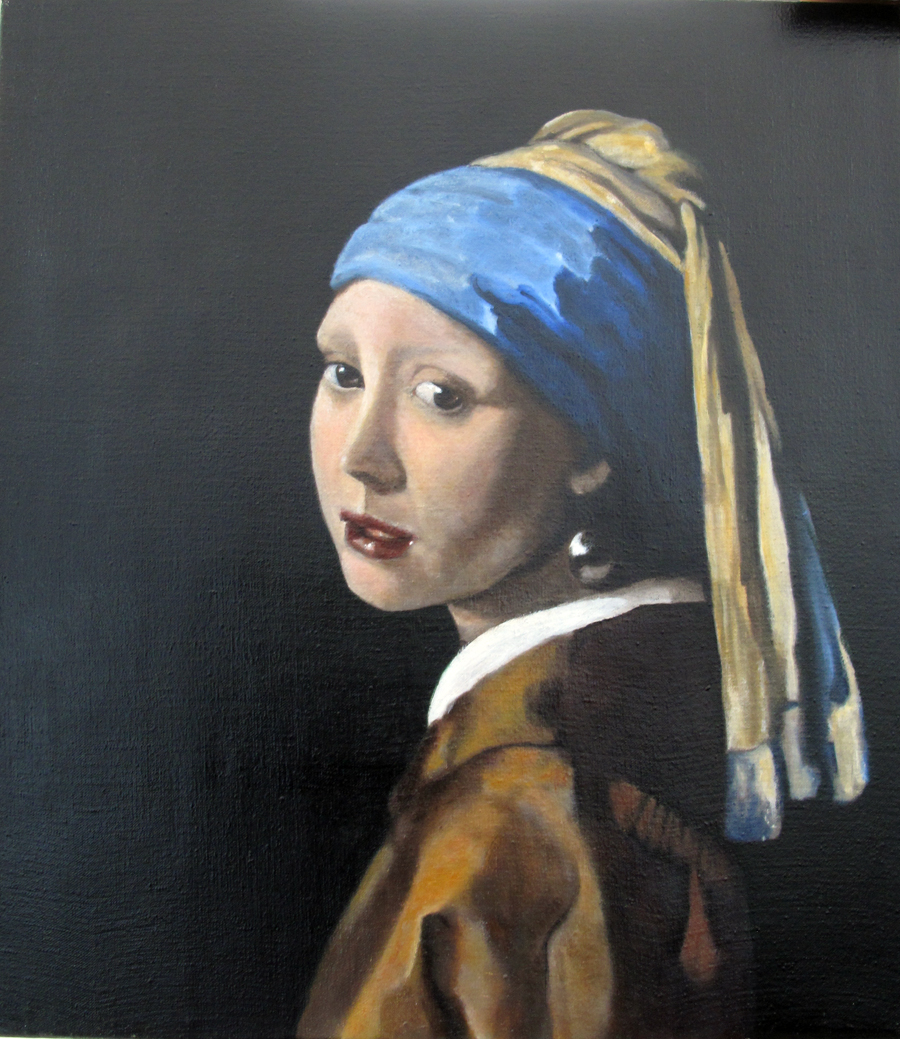 Girl With Pearl Earing master copy