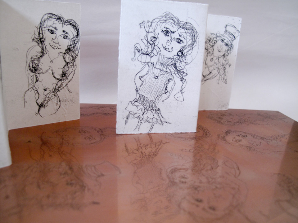 Soula Business Card etching