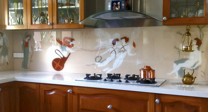 Mum's Ancient Greek Splashback