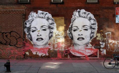Madonna Stencil