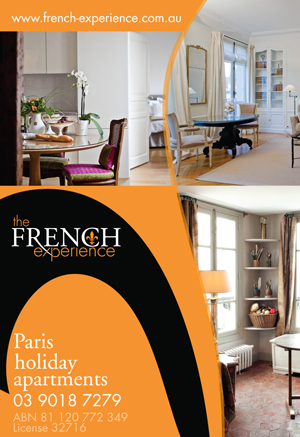The French Experience Advertisement