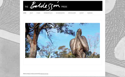 Baldessin Press website
