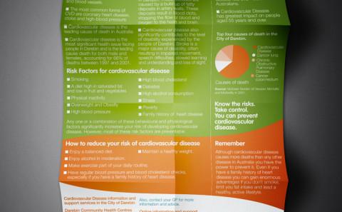 Darebin Health Posters - Cardiovascular Disease