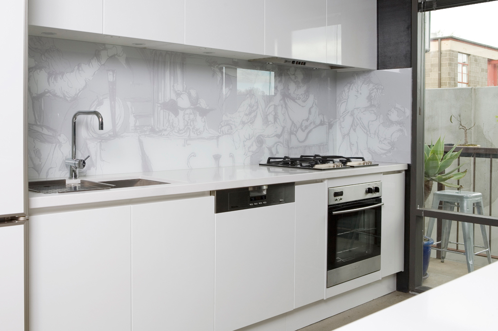 Kitchen splashbacks by Soula