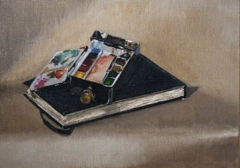 Artists Journal and Palette