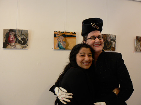 Soula & Lynn, Delightful exhibition hang