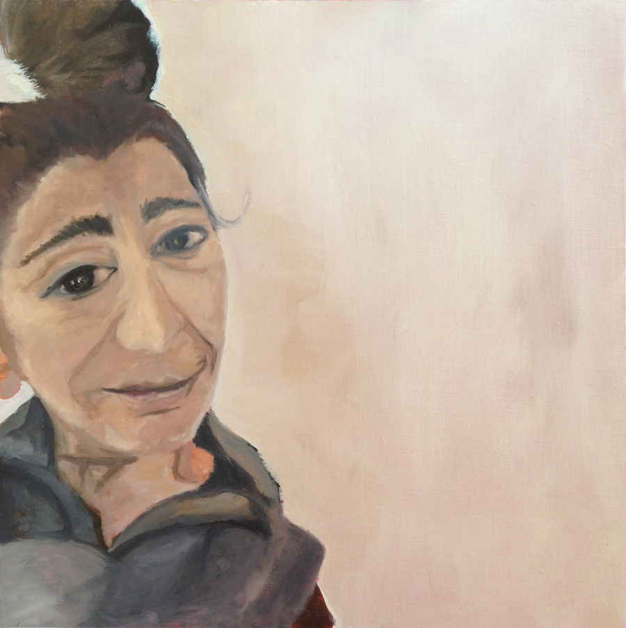 Self-Portrait-(selfie) by Soula Mantalvanos