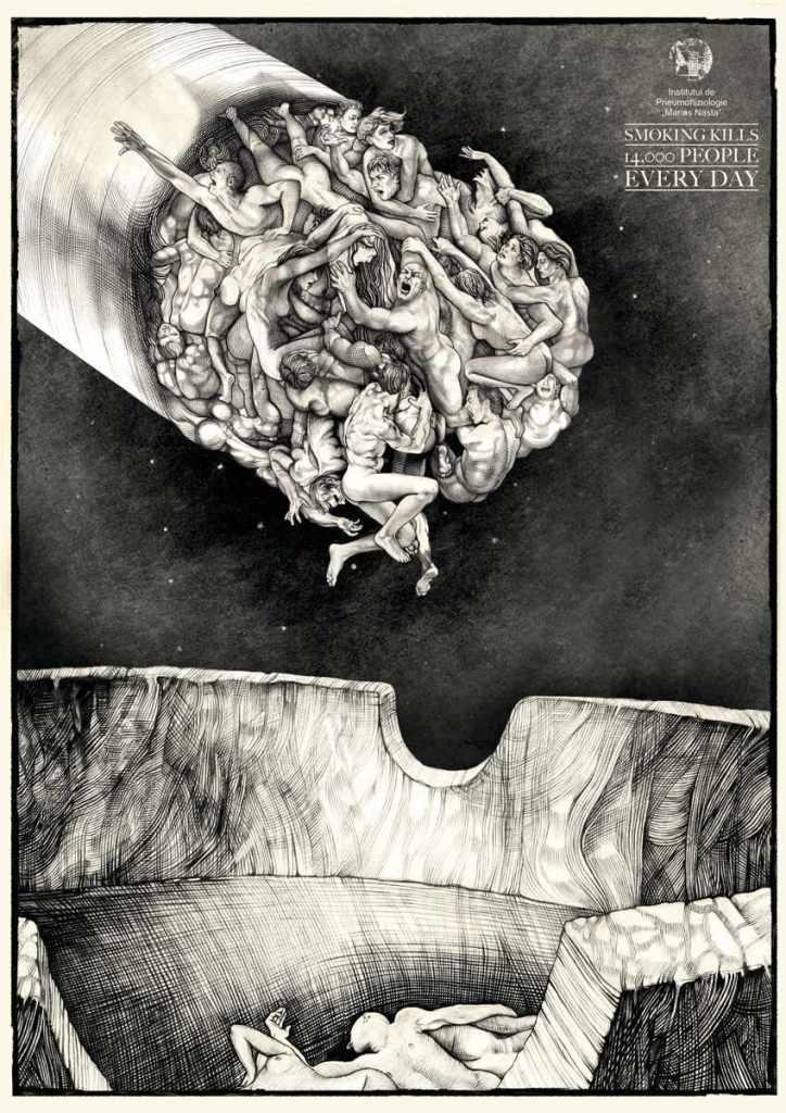 Illustrator: Mirco Brizi, Advertising Agency: Saatchi&Saatchi Bucharest, Romania