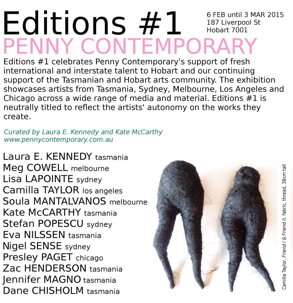 Editions 1 Penny Contemporary 2015