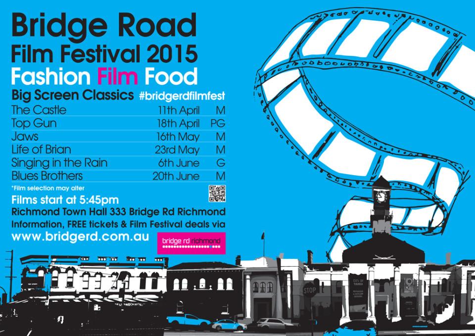 Bridge Road Film Festival 2015 poster