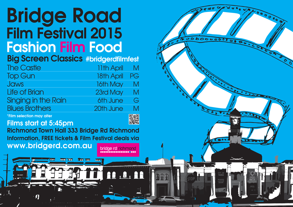 Bridge Road Film Festival 2015 poster