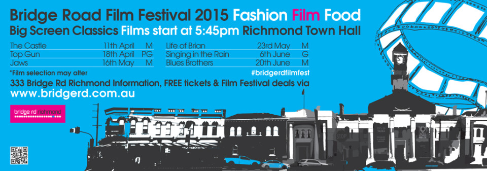 Bridge Road Film Festival 2015 news ad