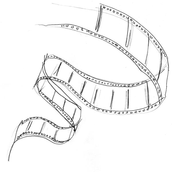 Bridge Road Film Festival 2015 original drawing